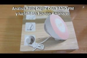 lampara bluetooth lidl
