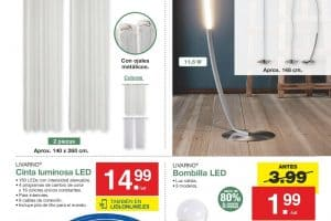 oferta bombillas led lidl